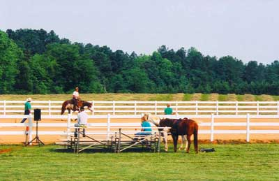 One of GLH's Horsemanship Training Clinics